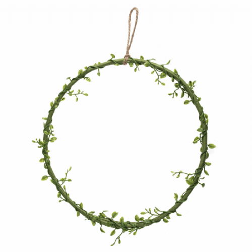 Wreath Base Green Vine 25.5Cm 10in
